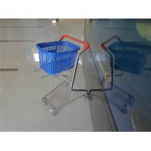 Powder Coating Double Baskets Trolley (YRD-J5)