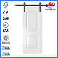 JHK-S04 2 Panel Design White Barn Door