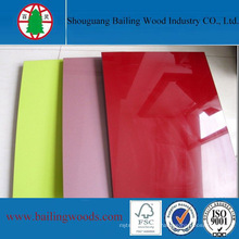China UV Faced MDF Factory