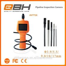 El endoscopio videoescópico flexible del videoscopio bien de la cámara del lcd de la inspección