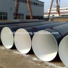 3PE beschichtetes Stahlrohr Polyethylenmantel innen