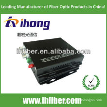 4 channels singlemode Fiber Optic Video Converter