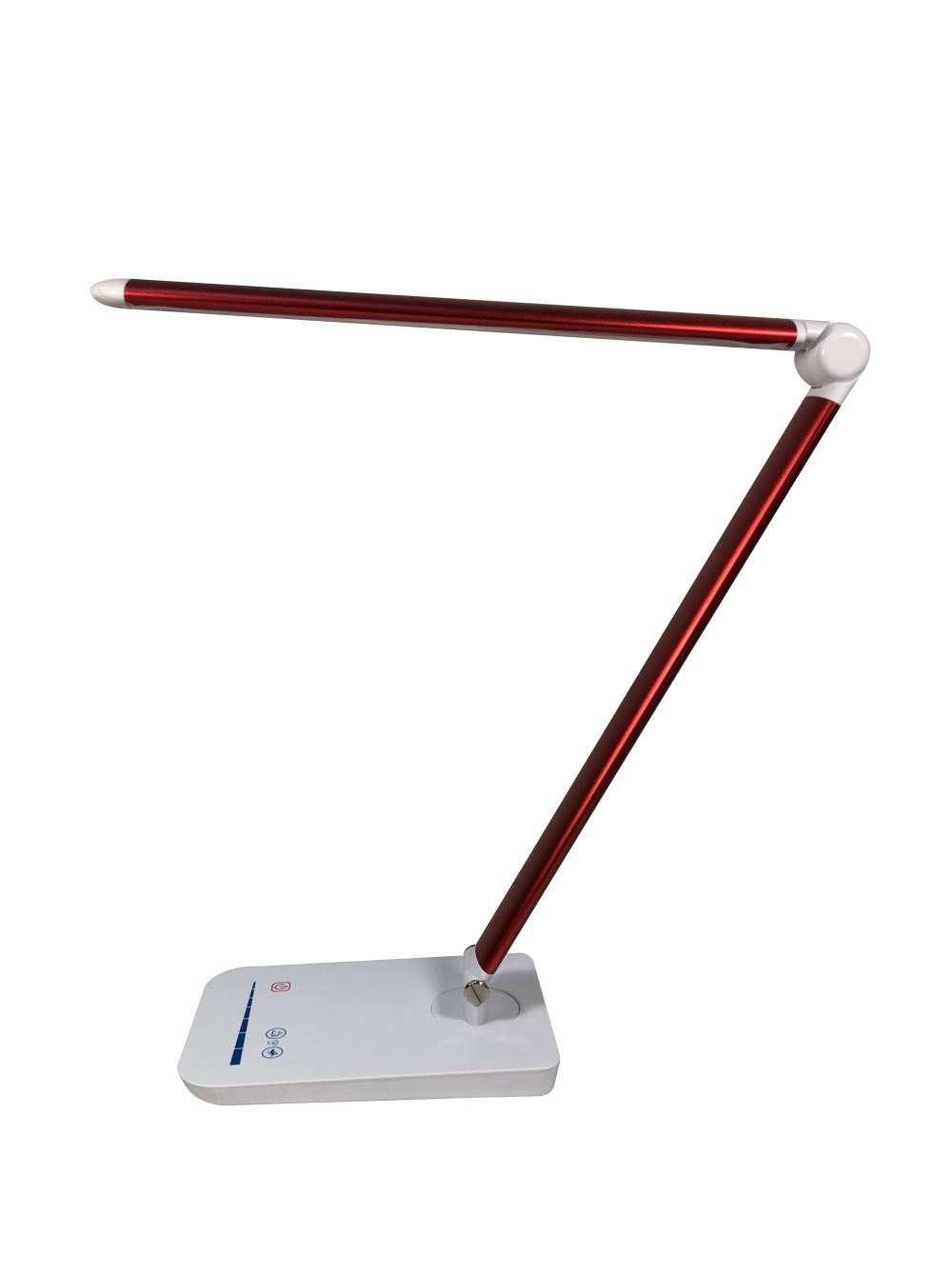 Home Office Dekoration Schreibtisch Lampe Red Color