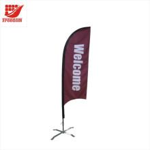 Bandera promocional de la bandera a prueba de viento de la publicidad