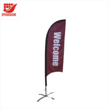 Promotional Advertising Windproof Banner Flag