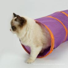 Neue Design Tragbare Lustige Pet Play Spielzeug Für Kleine Hund Katze Tunnel Spielzeug