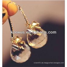Neueste Mode Ohrring mit Kristall gemacht