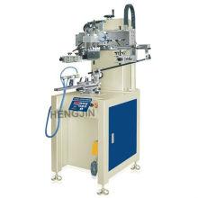 T HS-350R máquina automática de impressão cilíndrica de copo de tela de seda para uma cor