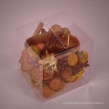 Caja de regalo PP personalizada para chocolates (embalaje de caramelos)