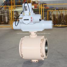 Motorisiertes Kugelventil mit Zapfenmontage