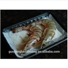 Empacotamento de alimento do recipiente plástico de segurança alimentar da aprovação de FDA para a carne fresca, marisco no supermercado