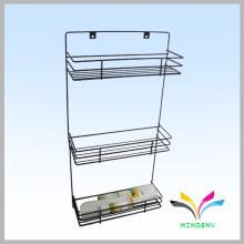 High quality factory manufacturer metal wire bath shelf