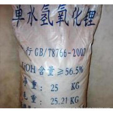 Hidróxido de litio monohidratado, grado tecnológico