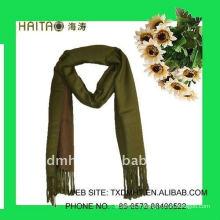 Style solide avec châle d'imitation en laine de conception épaisse