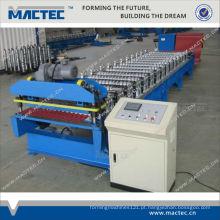 Alta qualidade MR1000 usado máquina de folha de metal telhado de papelão ondulado