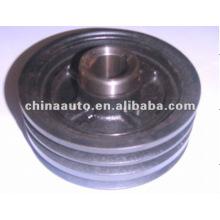 Engine Parts crankshaft pulley for Misubishi 4D33 parts