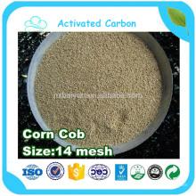 Repas d'épi de maïs pour la culture des champignons