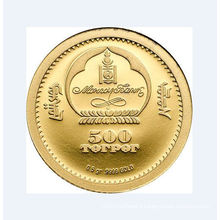Custom Bright Gold Plated Coin for Collection (GZHY-YB-012)