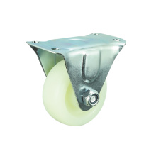 White PP Material Furinture Caster with Rigid