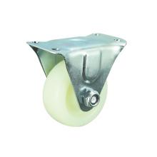 Material de PP branco Furinture Caster with Rigid
