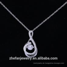 Sterling Silber Malteserkreuz Anhänger Import Modeschmuck