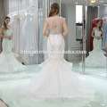 2017 vestidos de baile plissado sexy vestido de noiva de suzhou