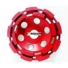 Doppelreihiges Diamond Cup Wheel
