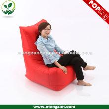Знаменитый дизайнер высокой роскоши красный бобов мешок стул сад