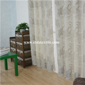 Newest Linen Touching Jacquard Curtain Fabric