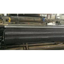 high strength coal mining supporting/protecting plastic mesh grid 30kN/m