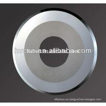 Cuchilla circular para el corte de litio