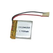Empaquetadora de batería recargable de polímero de nuevo producto 3.7V 200Mah