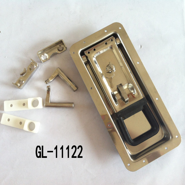 Recessed Paddle Handle Latch Lock