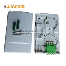 2 Port Multifunctional Optical Fiber Terminal Box Socket