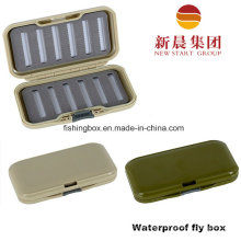 Waterproof Grey Color Fly Fishing Box