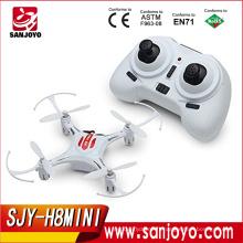 JJRC H8 Mini Headless rc Blanc drone 2.4G 4CH 6 Axe Gyro 3D Roulant RC Quadcopter RTF