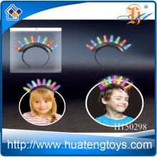 2014 Atacado de plástico 8 hairpin luz de flash para crianças, flash de brinquedo flash barato até hairpin H150298