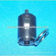 Chargeur de voiture miniature de 34 mm 5V600MA et 5V1200MA