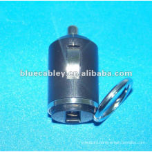 34mm mini car charger 5V600MA & 5V1200MA