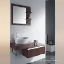 Meuble de salle de bain en surface de mélamine avec évier (SW-ML1208)