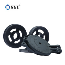 Customized Gray Cast Iron V-Belt Pulleys with Taper Lock for Industry