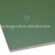 Material compuesto de aluminio incombustible