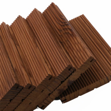High Quality Pine Timber Wood /deep carbonized of wood for wooden house