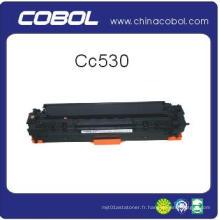 Cartouche toner couleur pour HP Cc530 / 531/532/533