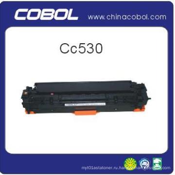 Цветной тонер-картридж для HP Cc530 / 531/532/533