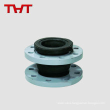 Casting flange single orifice flexible EPDM rubber expansion joint
