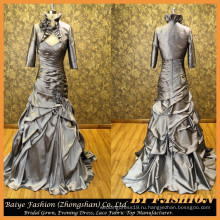 Последний атласная мама Вечерние платья с куртка вечернее платье ночь женщины платье до 14096