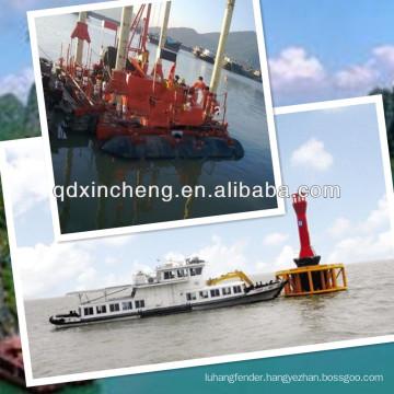 XINCHENG patent sunken vessel salvage rubber buoy