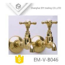 EM-V-B046 Waschmaschine an der Wand montiert einzigen Kaltwasserhahn Hahnhahn