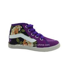 Zapatos de lona al por mayor de los niños al por mayor de China (H267-S)